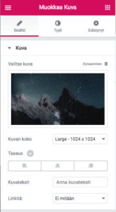 WordPress-ohjeet: kuvien muokkkaus